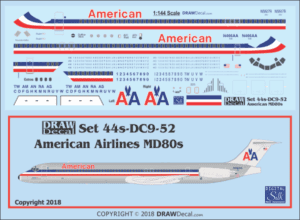 Md80 Draw Decal